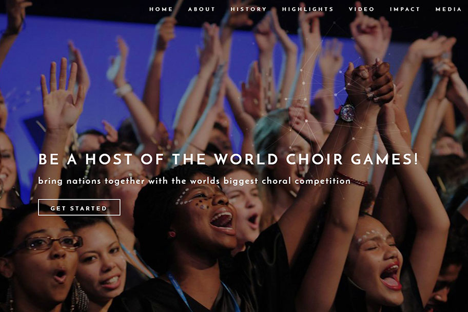 Be a host of the World Choir Games! | Host the World of Choirs